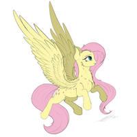 Fluttershy by Skitsniga