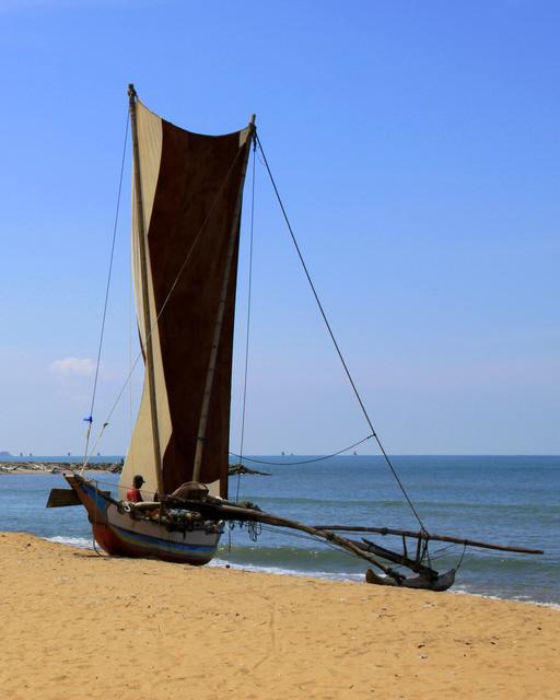 Sri Lankan fishing boat by Denish-C
