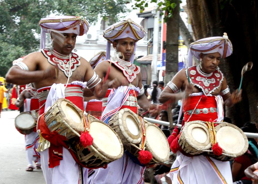 Sri Lankan drummers. by Denish-C