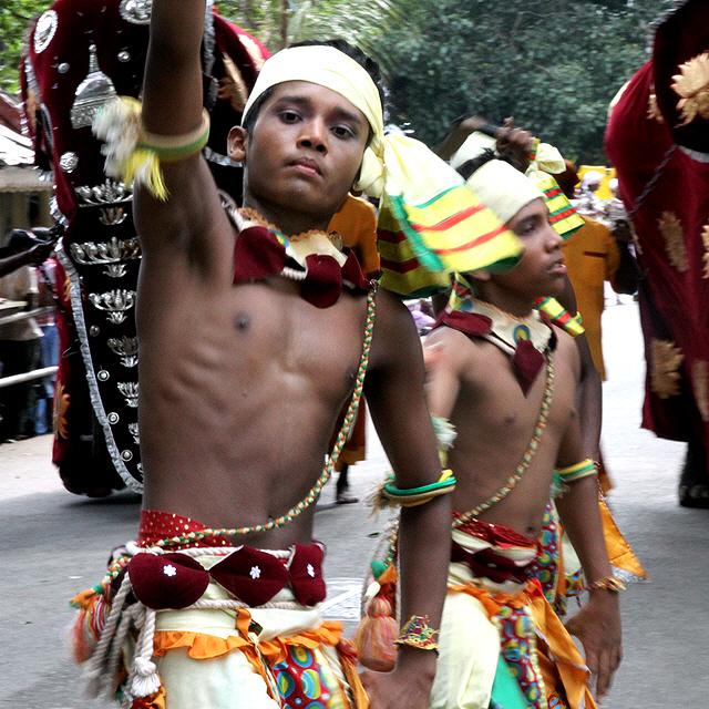 Kandy Perahera Dancers by Denish-C