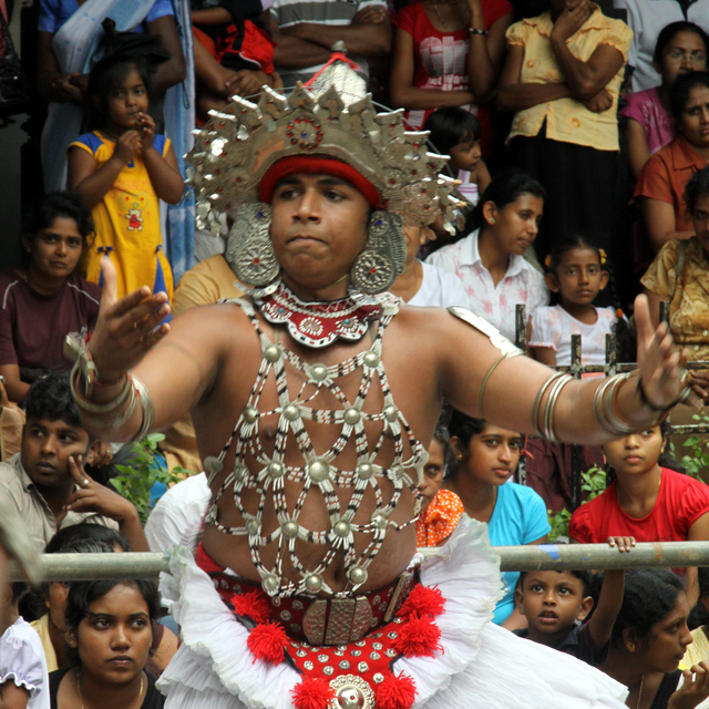 Dancer on the Kandy Perahera (2). by Denish-C