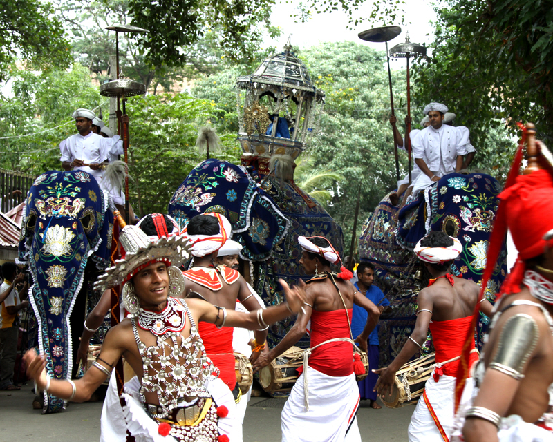 The Kandy Perahera. by Denish-C