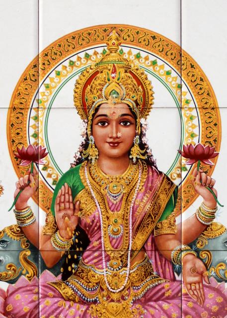 Goddess Lakshmi by Denish-C