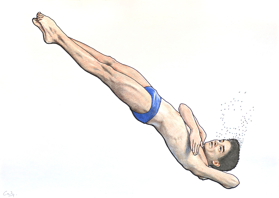 Male Diver by Denish-C