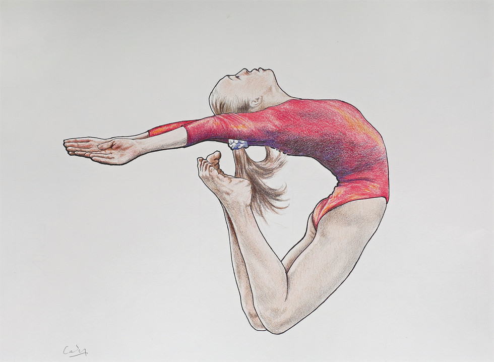 *Female Gymnast 2* by Denish-C