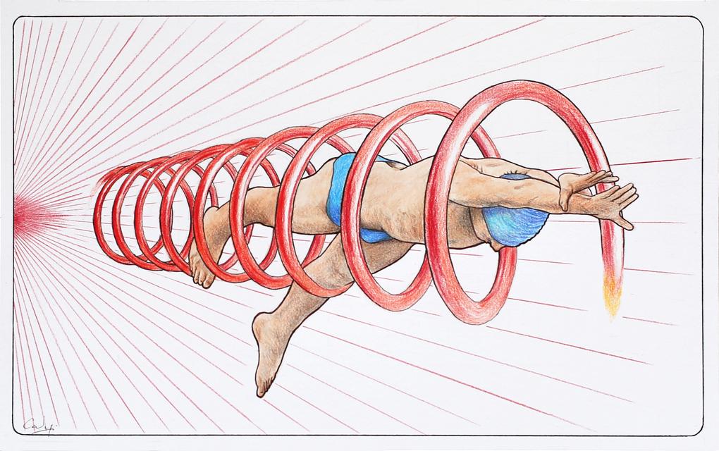 Drawing: *Flying Start 2* by Denish-C