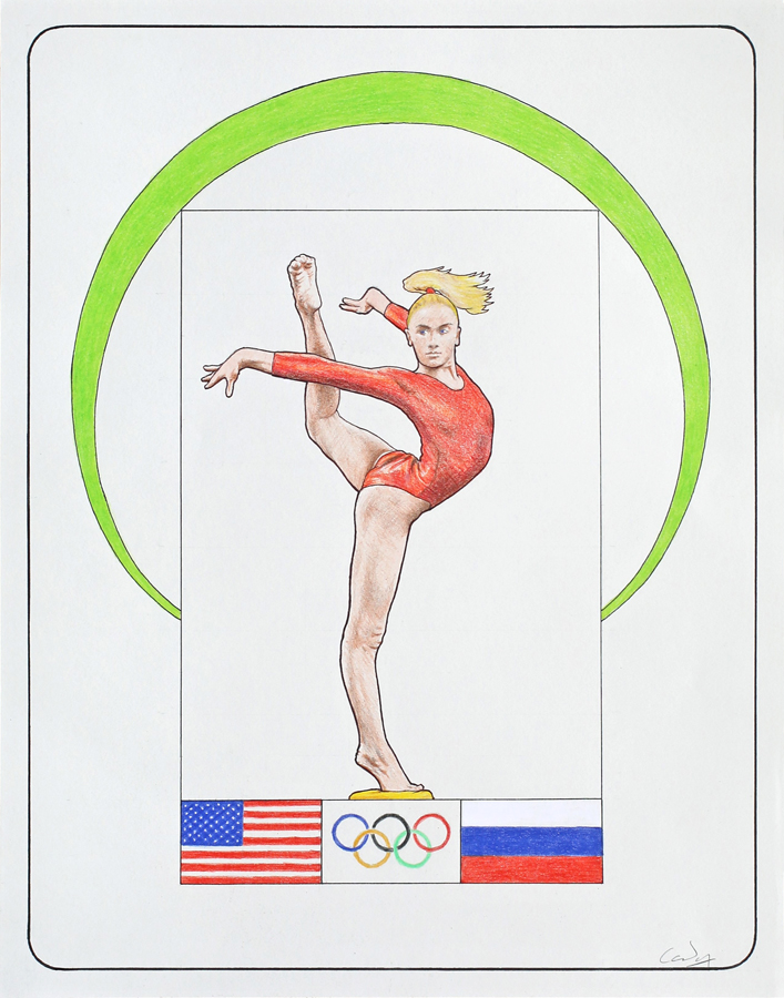 *Female Gymnast 3 - Nastia Liukin* by Denish-C