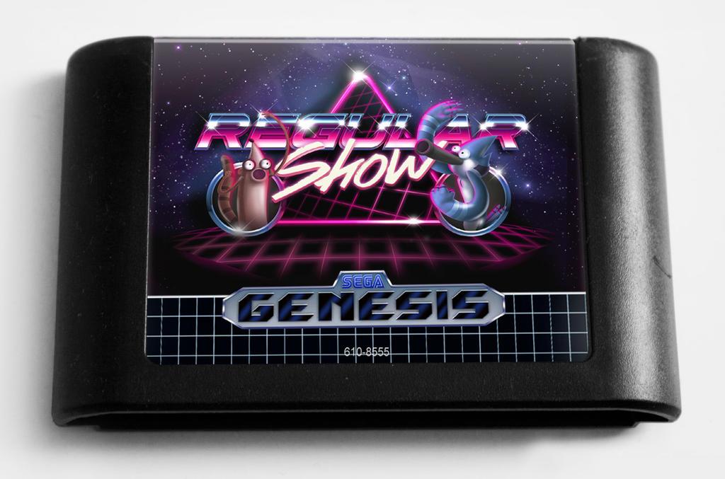 Sega Regular Show by Tonquez