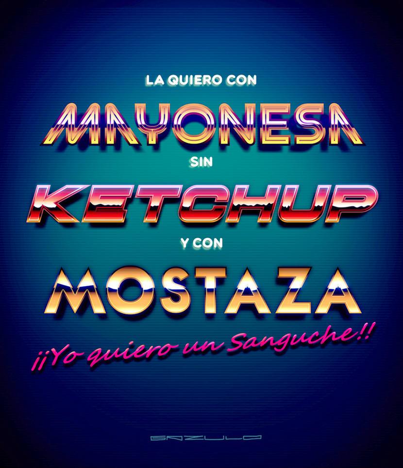 La quiero con mayonesa sin ketchup y con mostaza by Tonquez