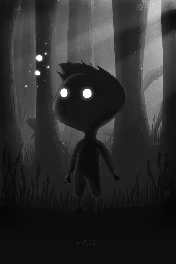 The kid in the dark. by Tonquez