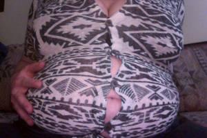 Enormous Belly Bloat by mykawaiilittlebelly
