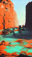 Nuna Sulfur Canyons