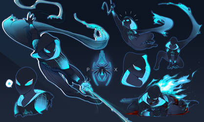 Spidersona - Phoenix by Myth-Keeper