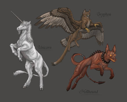 Myth collage