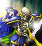 Dem + Sara, Into the Caverns!  Breath of Death VII