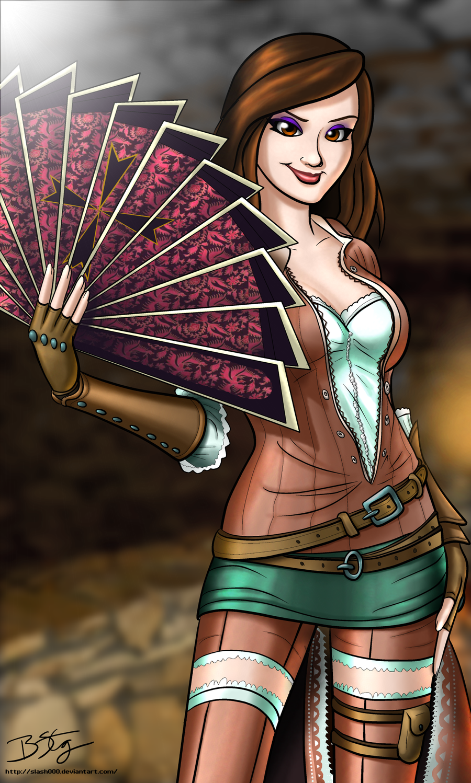 The Courtesan - Fiora Cavazza - Assassin's Creed by slash000