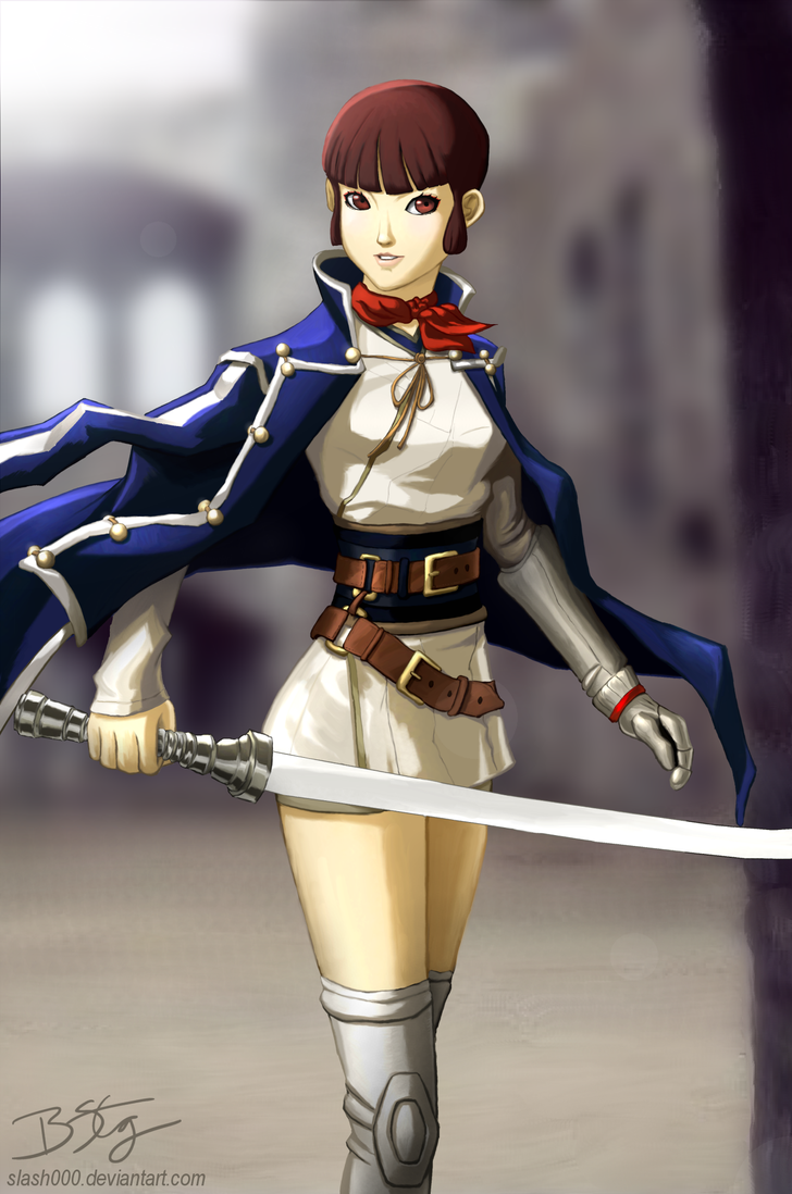 Isabeau - Shin Megami Tensei IV by slash000