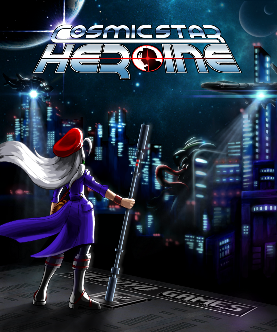 Cosmic Star Heroine - Cover art by slash000