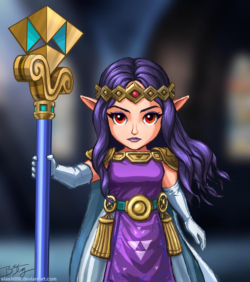 Princess Hilda - Link Between Worlds by slash000