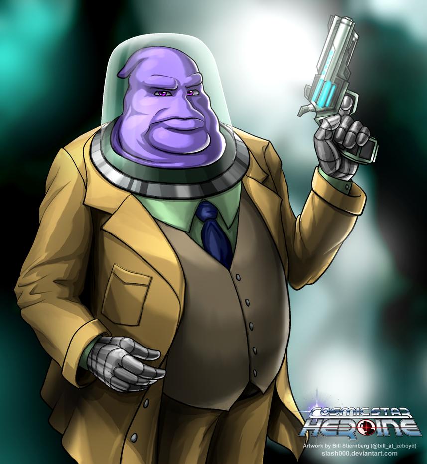 Orson Bolibar - Cosmic Star Heroine by slash000