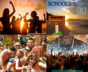 Book Schoolies Sure Thing 101 by surethingtravel