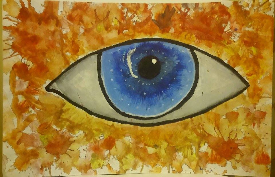 Painting Eye by Gakian11