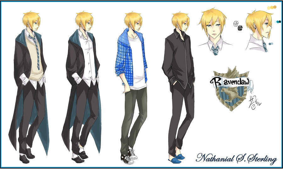 Pottermore Oc Nathanial By Evoone On Deviantart