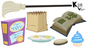 MLP Vector Resource: Everyday Objects 1