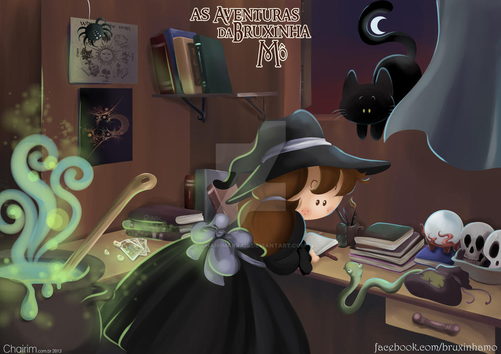 The Adventures of Witch Mo by ChairimArrais