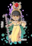 Goddess Hathor Chibi