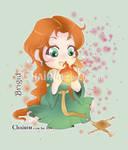 Brigid Goddess Chibi