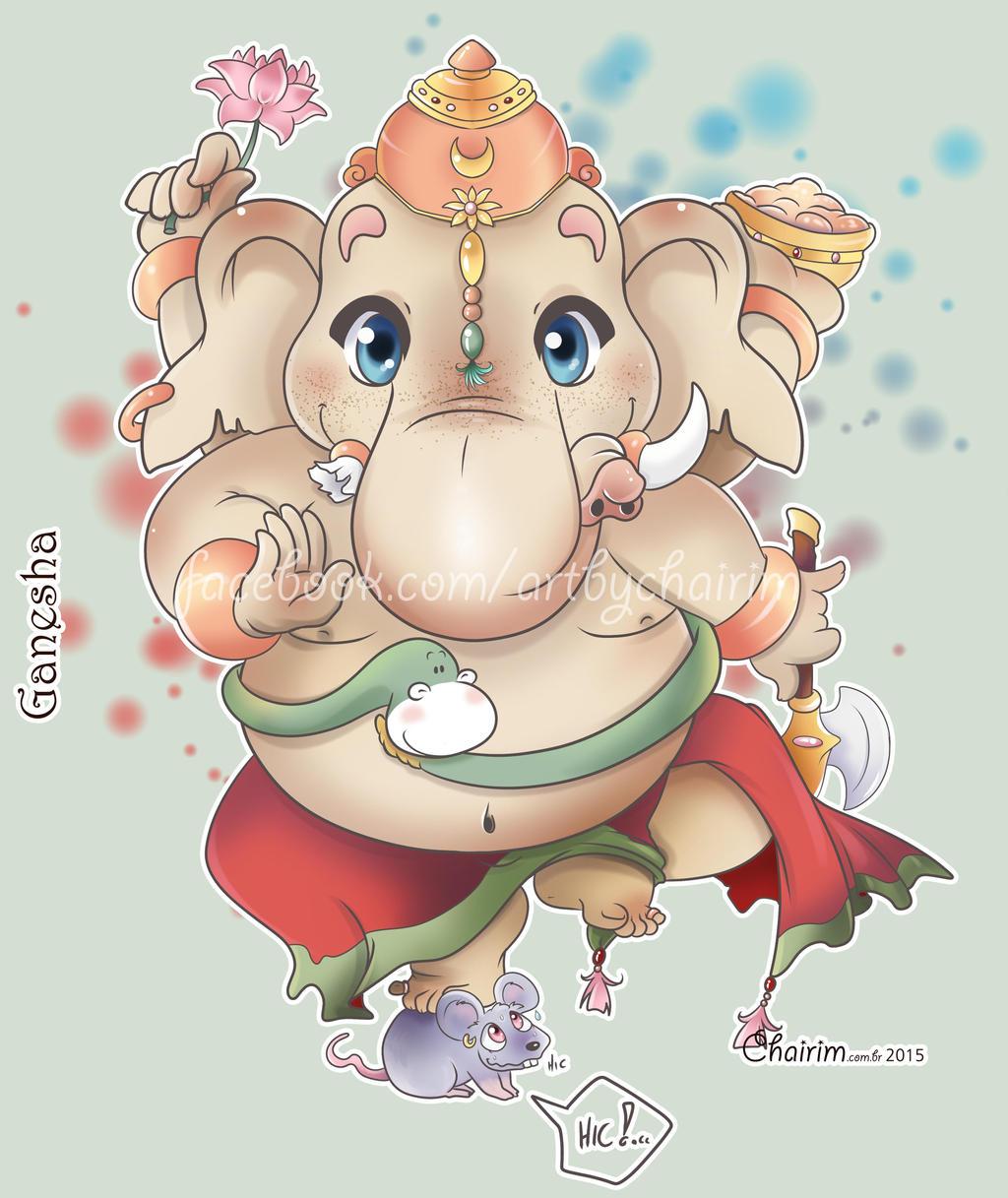 Lord Ganesh Chibi