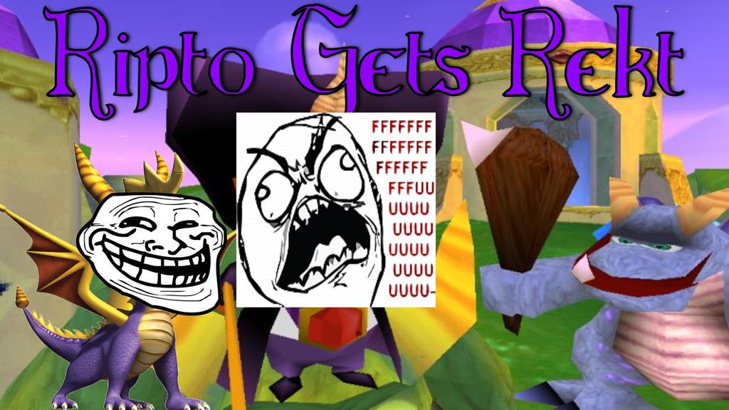 Spyro Ripto's Rage - Ripto Gets Rekt!!!!! XD by ChristianDragoon