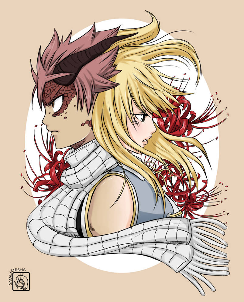 Natsu and Lucy - Fairy tail by smaliorsha on DeviantArt