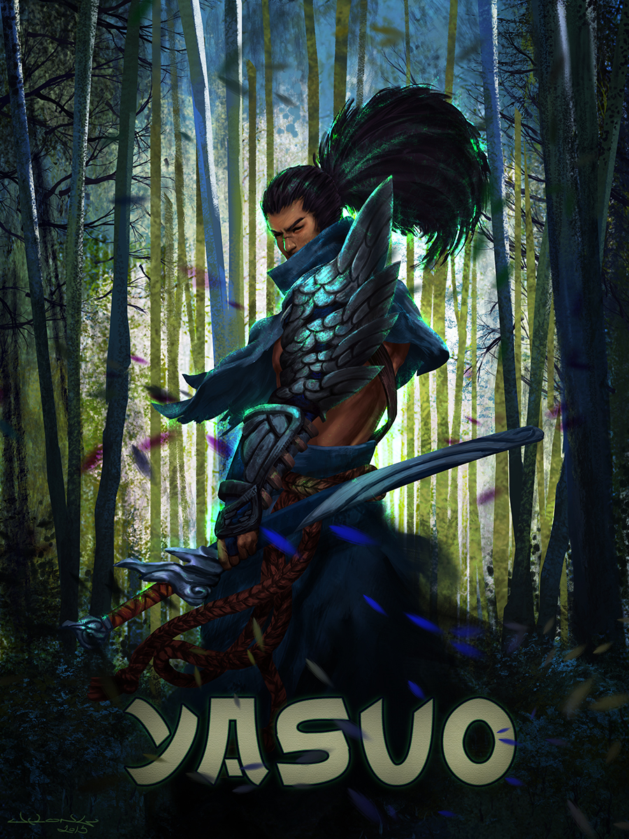 Yasuo League Of Legends By Notleon On Deviantart