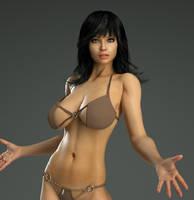 Take Two Girl Next Door Anastasia by 3DXArt