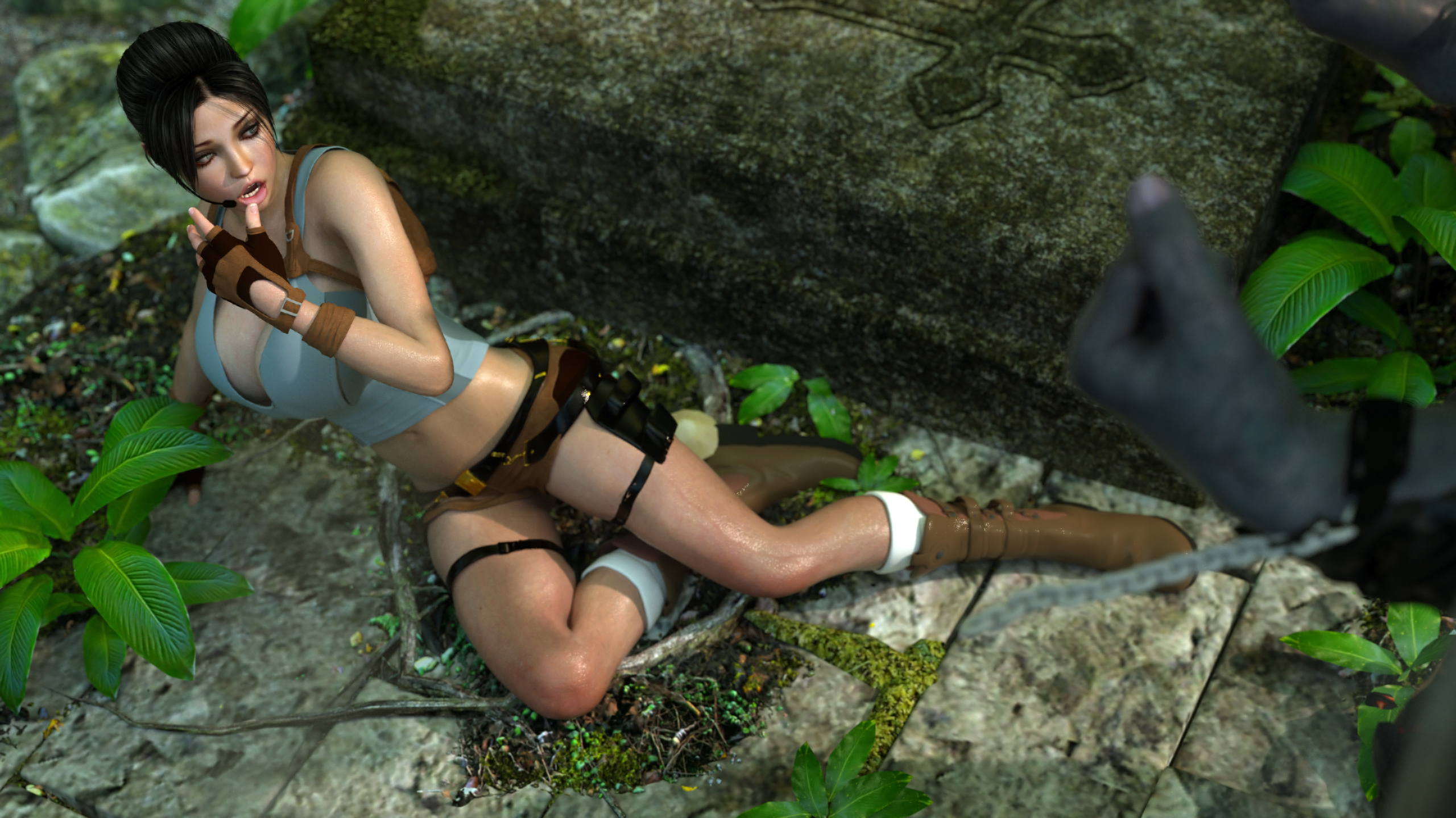 Lara croft as a slave nude pic
