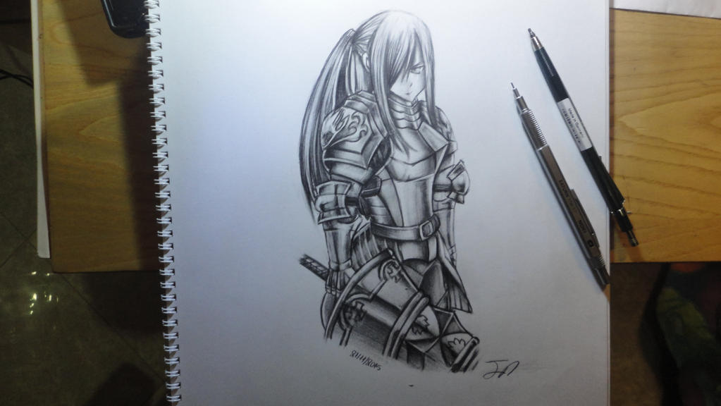Erza - Fairytail part 6/6 by Legendary8559