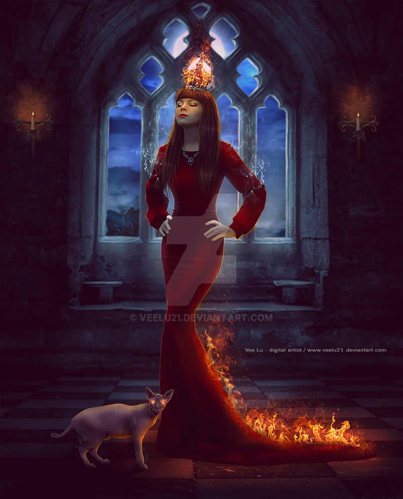Queen Of Fire by Veelu21