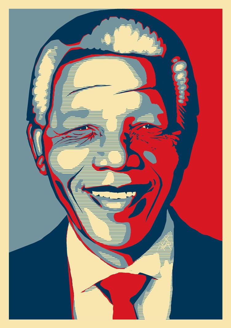 Nelson Mandela by rolandtelema