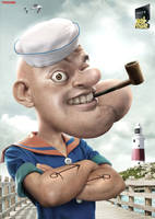 REGZA Real Popeye by adampamungkas