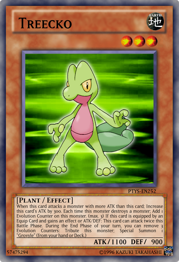 pokemon the yugioh set ptys casual card design