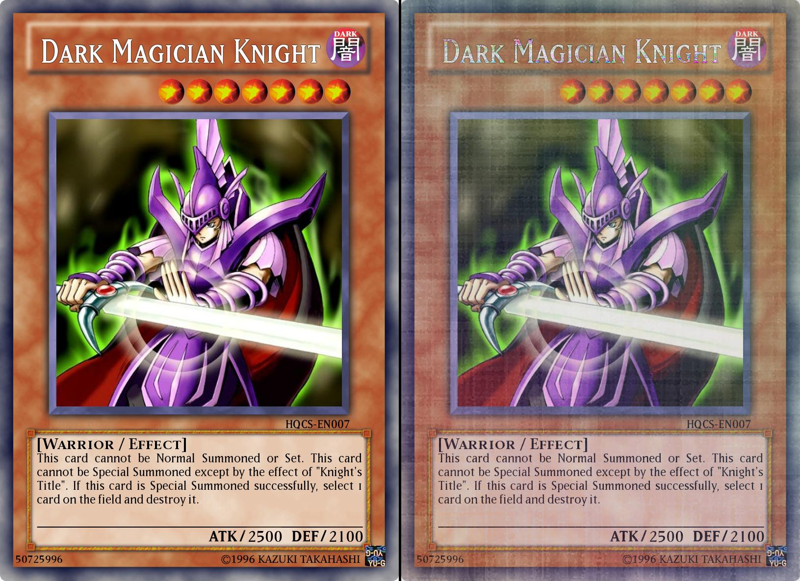 Yugioh knight cards