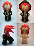 Axel Plushie Voodoo Doll Style