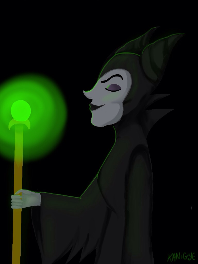 Maleficent by Kanigye