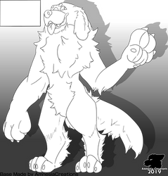 Bernese Mountain Dog (free to use) by happymoose11