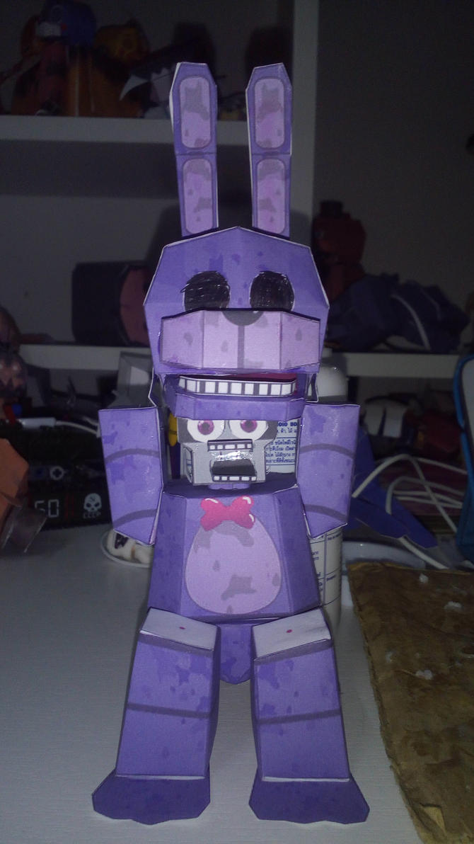 how to make a toy bonnie mask
