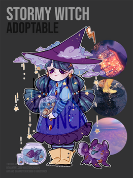 Stormy Witch Adopt: CLOSED
