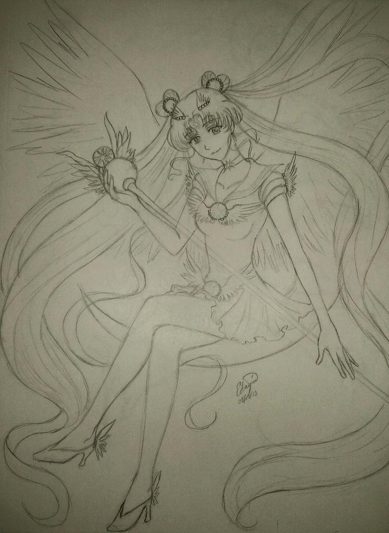 Sailor Cosmos by Xelizel