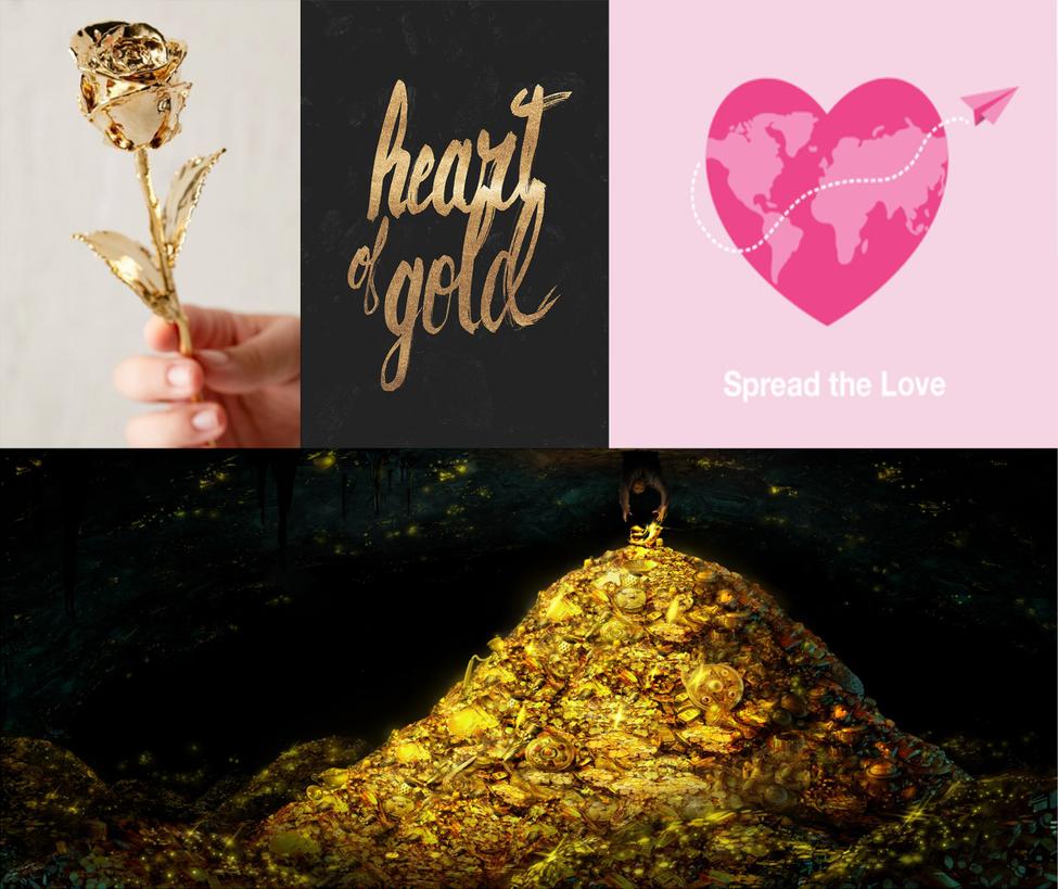 Aesthetics adopt 31 -Closed- (A Heart of Gold) by VampiricLepara